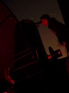 coupole nuit rouge