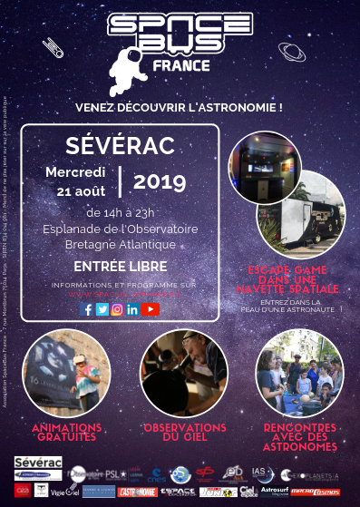 Flyer SPACEBUS Sévérac