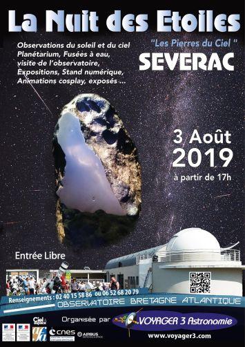 Affiche Nuit des Etoiles 2019