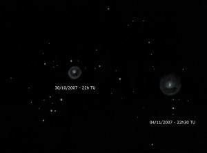 Comète 17 PHolmes