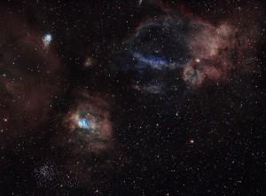 NGC7635 La bulle et autre