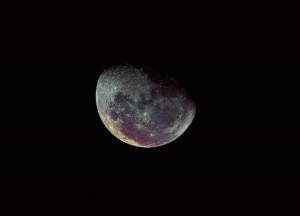 Lune en couleur Image du mois