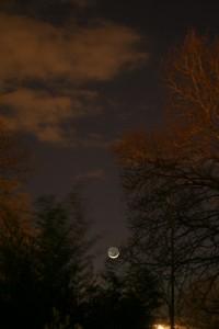 Croissant de lune Image du mois